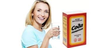 Как пить соду для похудения?