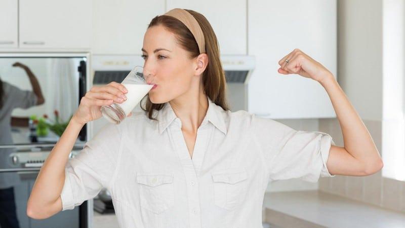 Как правильно принимать молоко