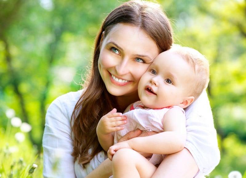 качественное фото мамочек