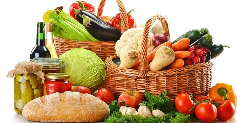 Продукты с минимальным содержанием калорий