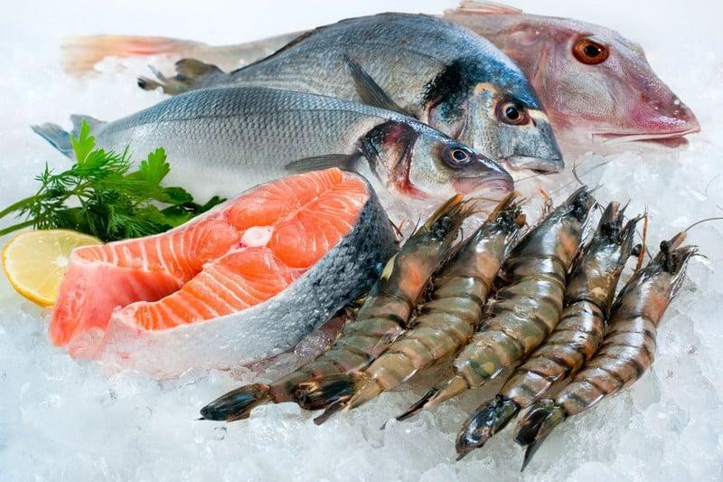 Железо в морепродуктах