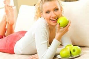 На яблоках разгрузочный день