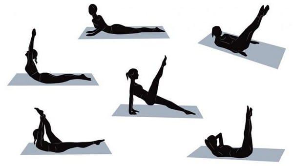 Уроки пилатес для похудения за 10 минут в день