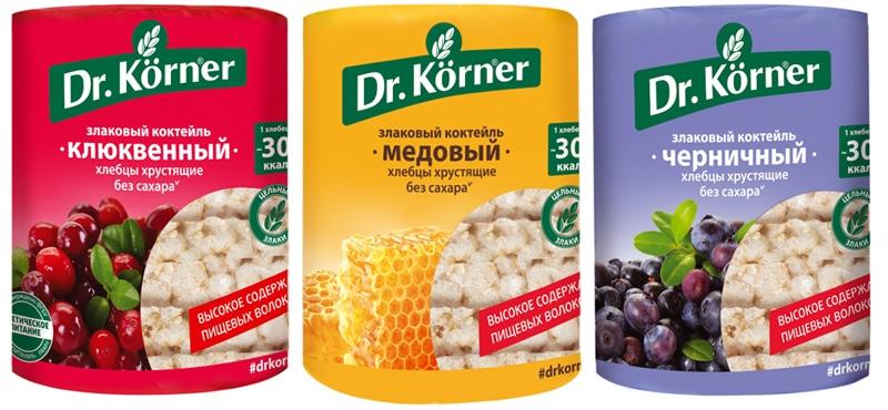 Хлебцы Dr. Korner