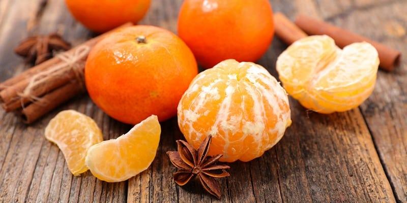 Достоинства мандаринов