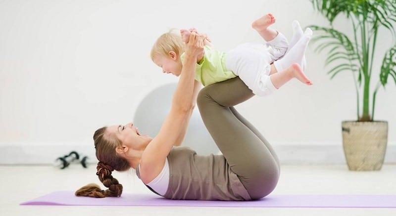 после родов упражнения