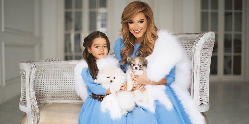 Ксения Бородина и дочь фото