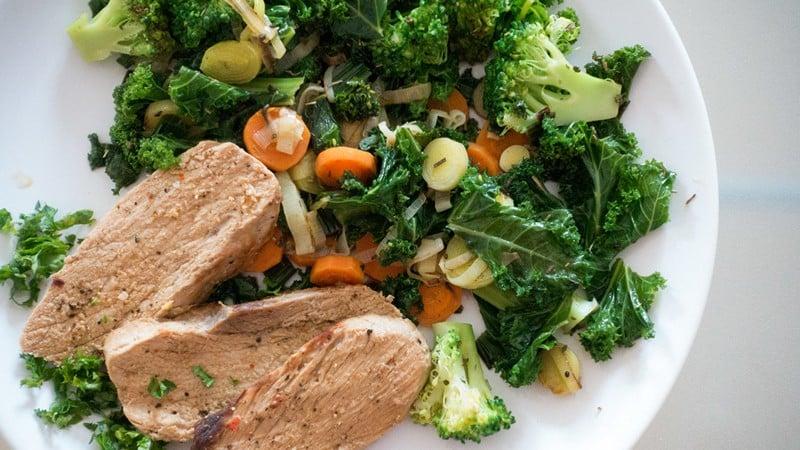 Сбалансированое питание при диете