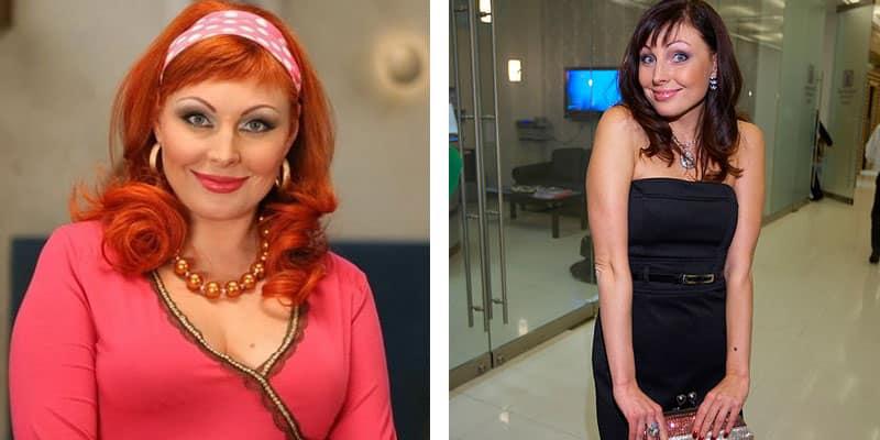 Наталья Бочкарева фото до и после диеты