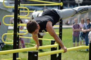 Элементы воркаута, список простых и сложных упражнений