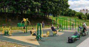 Обзор самых популярных площадок для воркаута в Минске