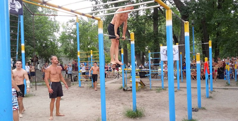 Воркаут площадки в Киеве