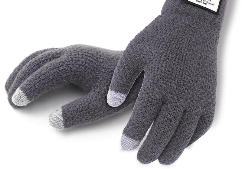 Шерстяные рукавицы
