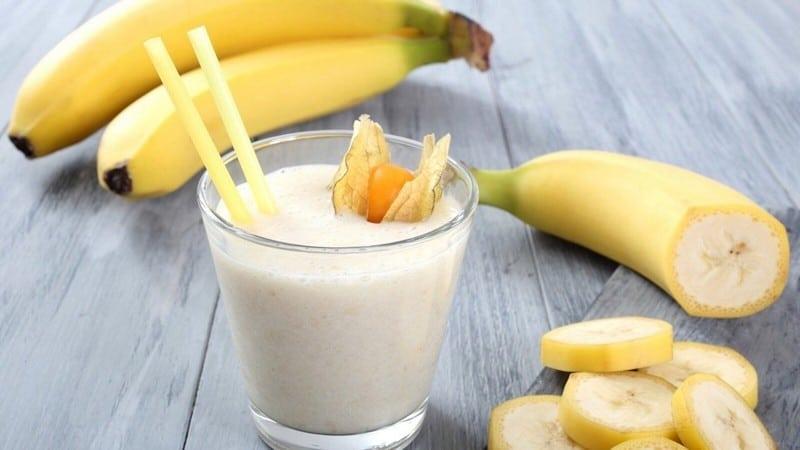 смузи из банана