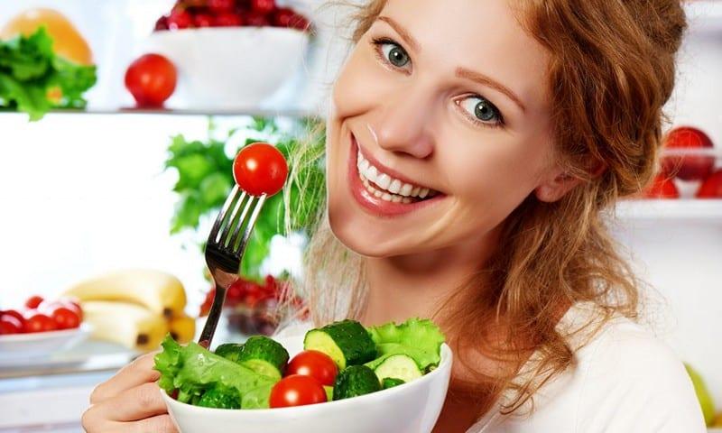 Вегетарианство уберегает от переедания