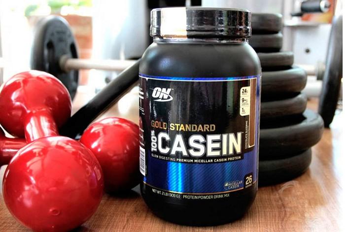 Молочный белок казеин для набора массы и похудения